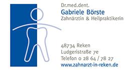 Zahnärztin Dr. Gabriele Börste
