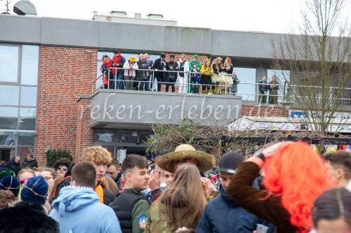 Ein viertel Jahrhundert von Jecken bewundert - Karnevalsumzug 2020 in Reken