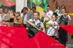 Die Bahnhöfer feiern ihren neuen König - Parade und Krönungsball