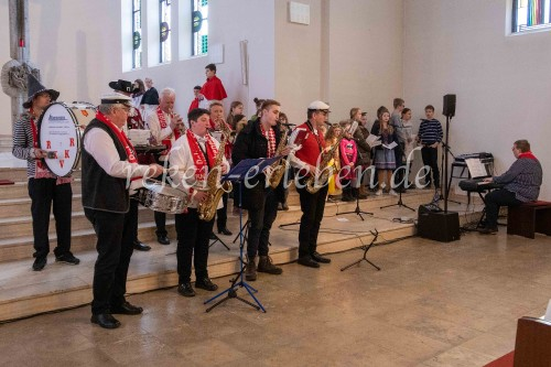 Karnevals-Messe in der St. Heinrich-Kirche