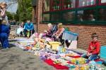 Kinderflohmarkt auf dem Schulhof der Ellering-Schule