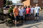 Kutsche schmücken für das Groß Rekener Jubiläumsschützenfest